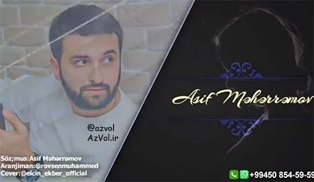 دانلود آهنگ آذربایجانی جدید Asif Meherremov به نام Belasan Basima Bela
